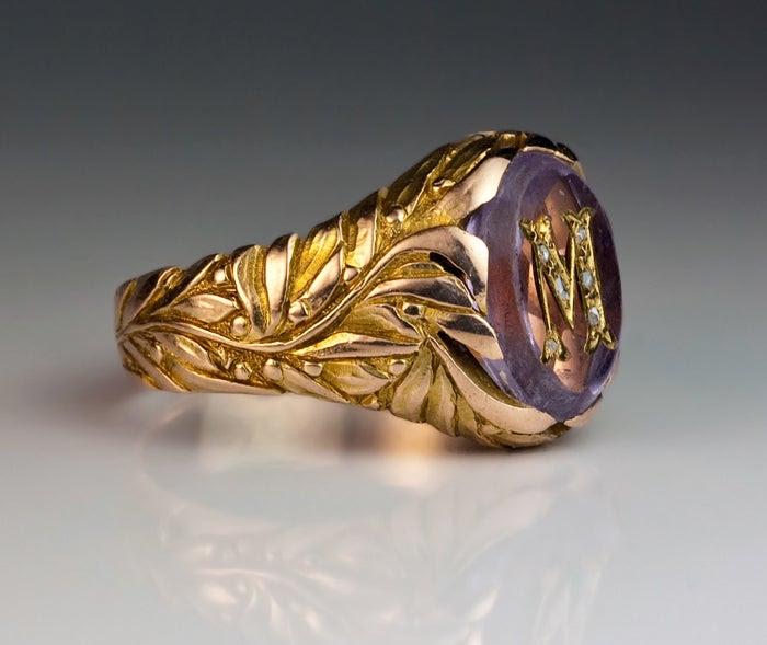 18K GOLD EP 1.0CT MENS DIAMOND SIMULATED SAPPHIRE RING multiple sizes u choose