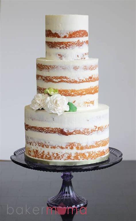 16 Amazing Naked Cakes   Wedding Cake Ideas   Wedding