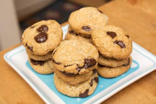 pillars of cookies