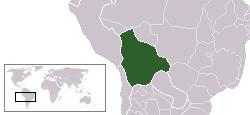 Localizarea Boliviei