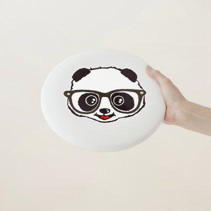 Cute Panda Wham-O Frisbee