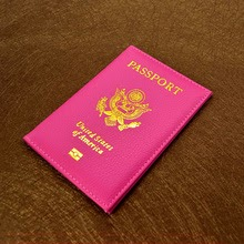 Big Witch Leather Russian Passport Cover Case Protector Women