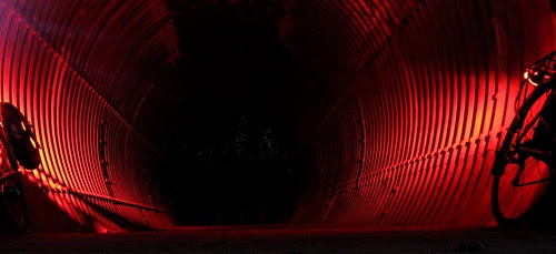 Tail-Lit Tunnel