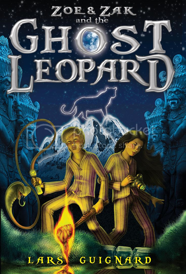 Zoe & Zak and the Ghost Leopard Book Cover