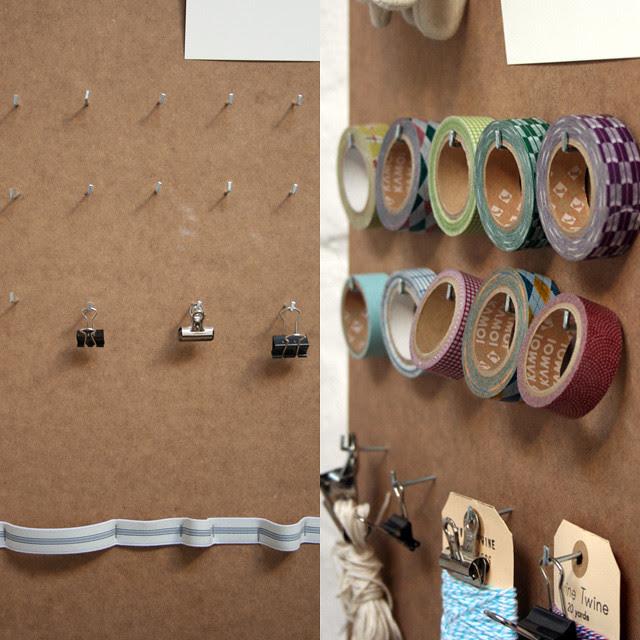 organize Masking Tape