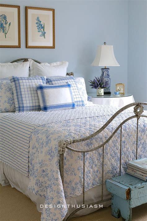 french blue guest room   bonne nuit