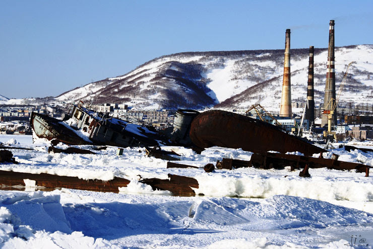 abandoned ships in  kamchatka, Russia 16