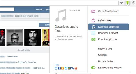 youtube downloader    extention   vimeo