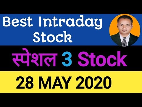 Best intraday trading stock For 28 May 2020   intraday trading Strategie...