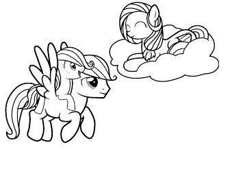 5300 My Little Pony And Friends Coloring Pages Images & Pictures In HD