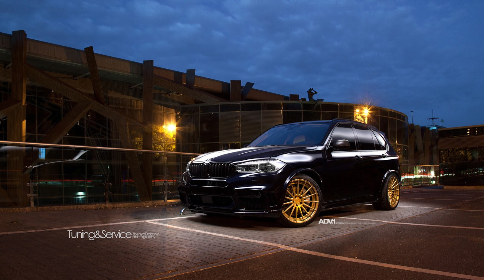 Bmw X5 Black Rims