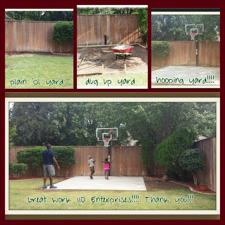 Basketball Doesnt Have To Be Played On The Driveway Or A Full Size