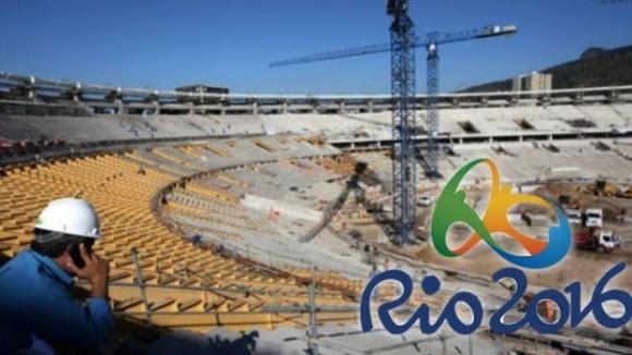 Proceso de construcción de las instalaciones en las Olimpiadas de Río 2016