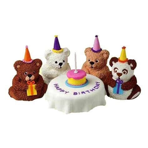 Wilton Mini Stand Up Bear Novelty Cake Pan/Tin
