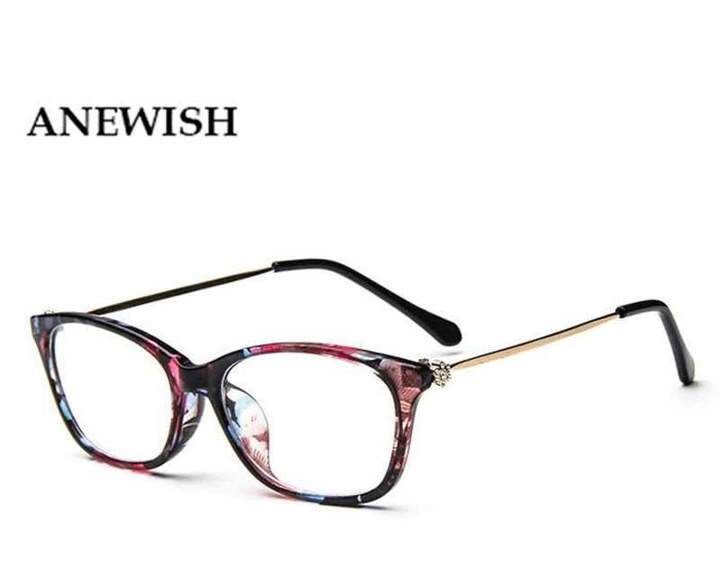 25c7b8d87c1a5 Comprar Novo Grau De Moda Feminina Do Vintage Óculos Armação Diamante Olho  Gato Retro óculos Dos Prescrição Para As Mulheres s Baratas Online Preço ~  ...