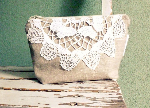 make up pouch lace
