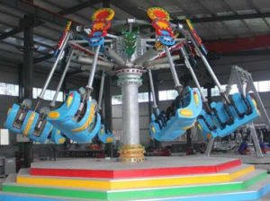 Amusement park spiral jet rides for sale