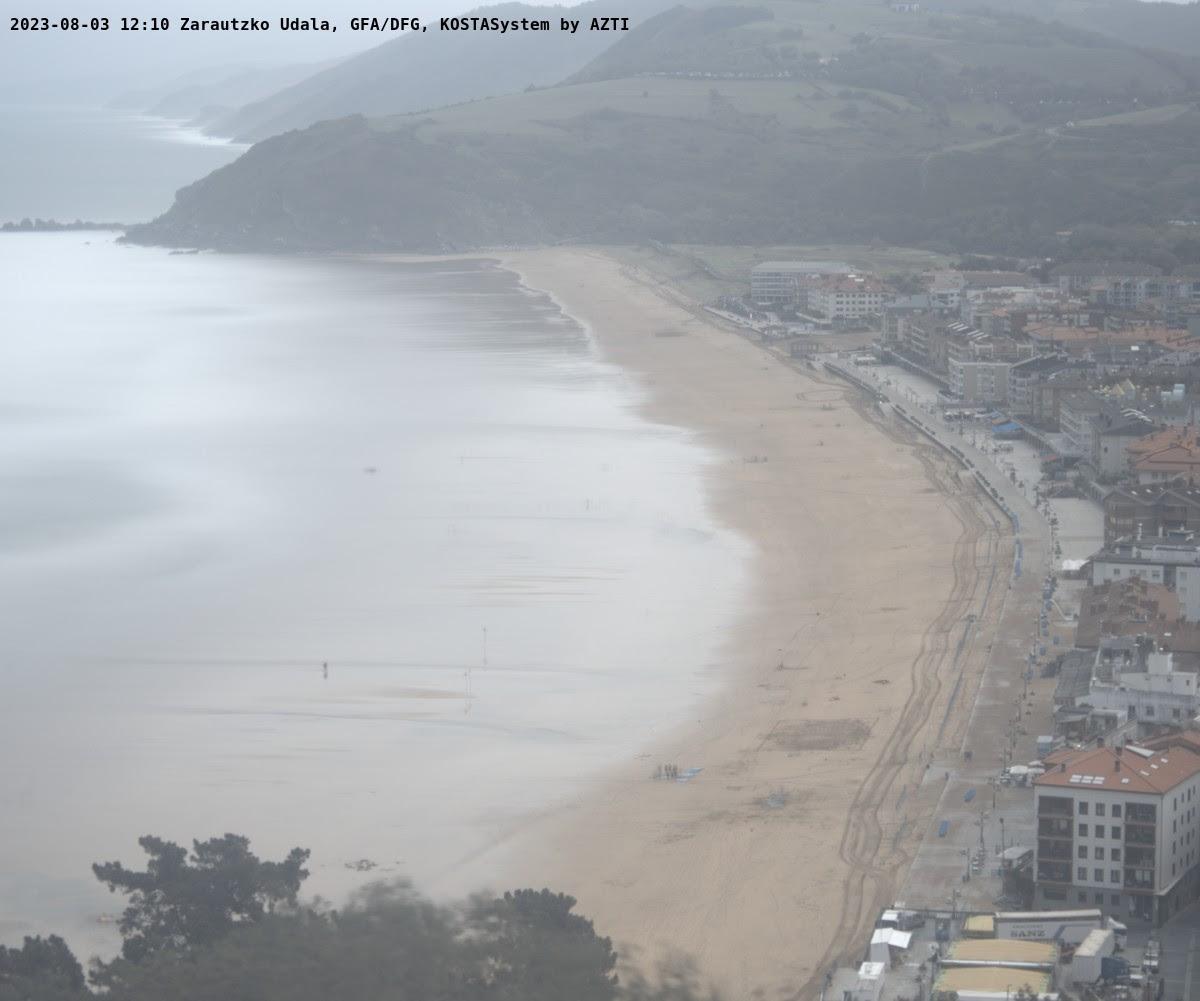 Webcam de la playa de Zarautz