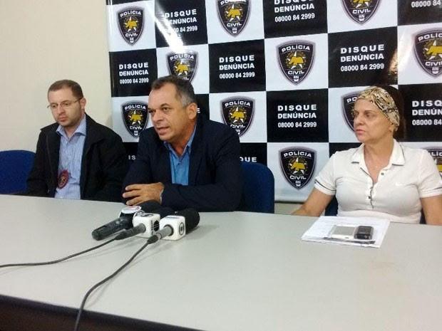 Delegados falaram sobre mortes de torcedores em Natal (Foto: Felipe Gibson/G1)
