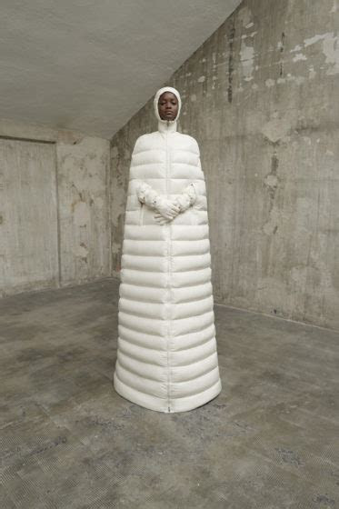 Moncler's Gigantic Puffer Coat Gowns Are Delightful   Go