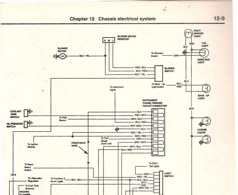 Ford F 150 Wiring Harnes Diagram 1979