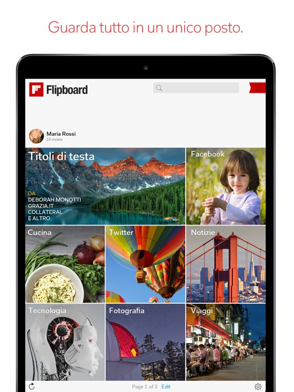 Flipboard: La tua rivista sociale di notizie si aggiorna alla vers 4.2.28