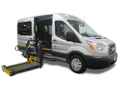 The Ford Transit Side Entry By Ams Vans Commercial Vehicles