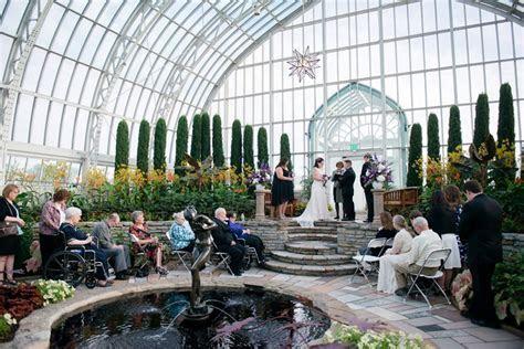 Como Park Conservatory Wedding   Sara and Paul