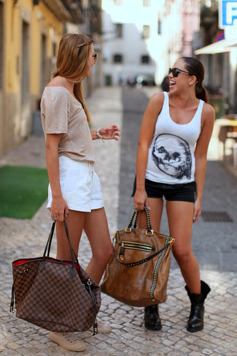 Shorts & bags (South African girls)