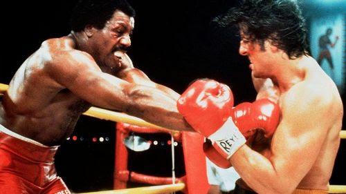 Rocky & Apollo in the ring