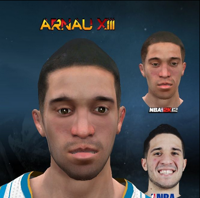 Download NBA 2K12 Greivis Vasquez Cyberface Patch PC