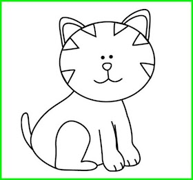 Kucing Lucu Hitam Putih