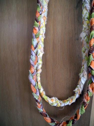 Samantha Walker Braided Scrap Necklace