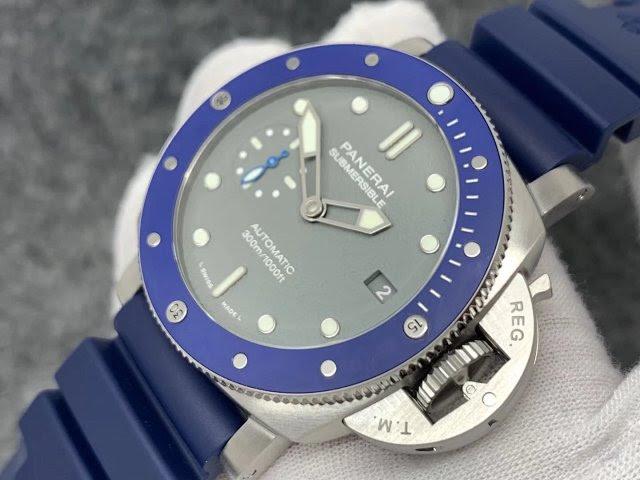 PAM 959 Blue Ceramic Bezel