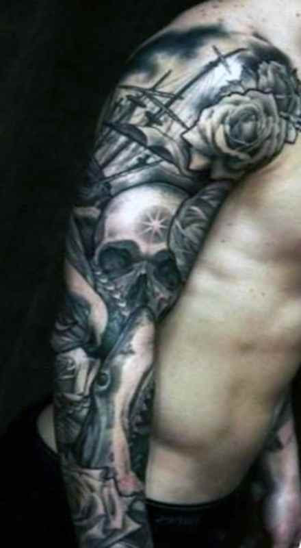 Awesome Skull Tattoo Tattoo Designs Ideas For Man And Woman