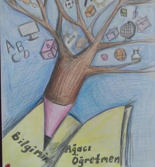 öğretmenler Günü Ile Ilgili Kolay çizimler Resimler