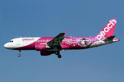 Peach Aviation (Japan) Airbus A320-214 JA805P (msn 5304) (Mariko Shinoda) TPE (Manuel Negrerie). Image: 921008.