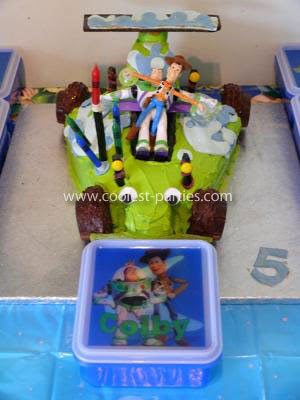 Coolest Toy Story 5th Birthday Party
