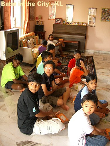 some of the children at Compassion Home