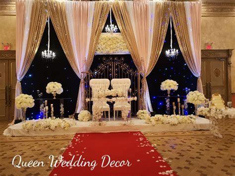 Queen Wedding Decor Toronto, Markham, Mississauga, Scarborough