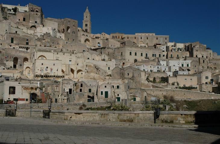 matera itália cidade das cavernas