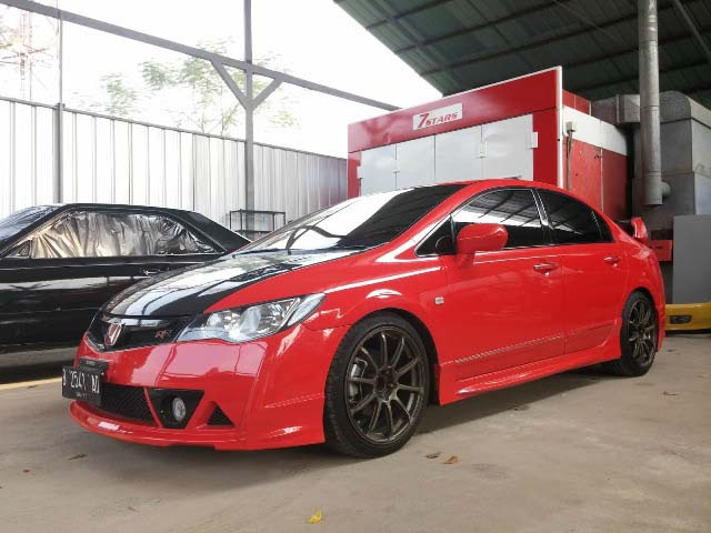 GETTINLOW | Bagus Ashari: Modifikasi Honda Civic Ferio 2000