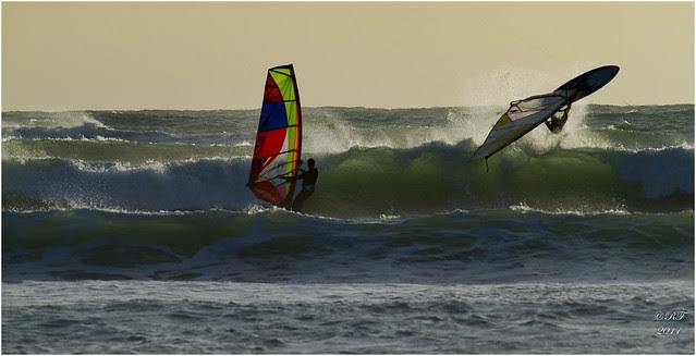Windsurf - avant la tempête