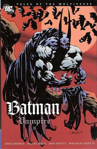 Batman: Vampire cover