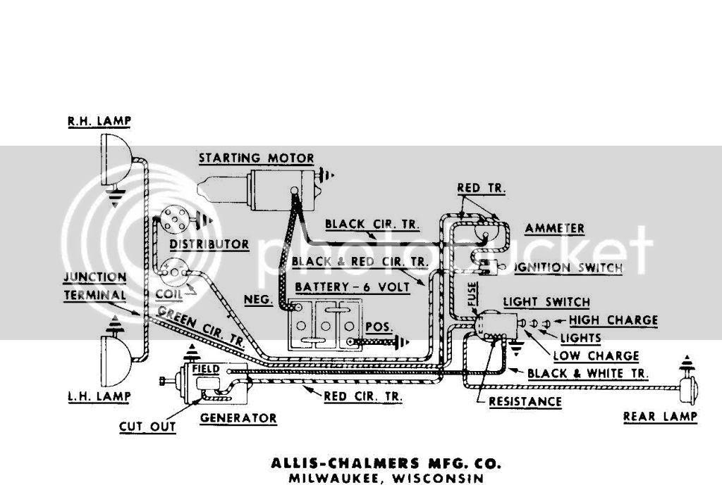 Allis Chalmers Wd Parts Diagram