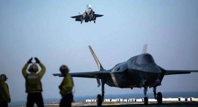 Novos porta-aviões americanos mostram incompatibilidade com caças F-35