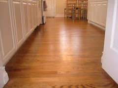 Kitchen floor.