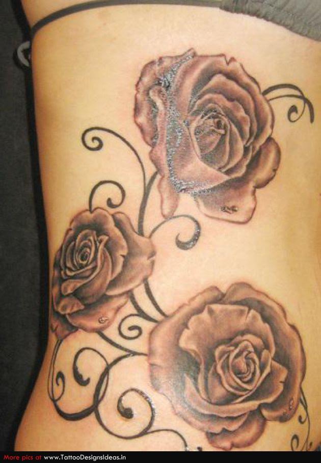 Beautiful Tattoo Design Of Rose For Women Tattoomagz