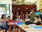 Servidores de colégio não aderem greve (Quésia Melo/G1)