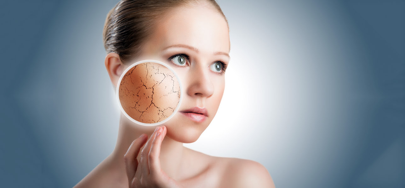 Image result for dry face skin